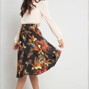 Twirl Power Midi Skirt